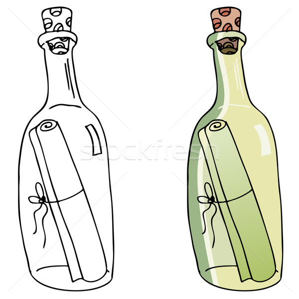 Message in a Bottle Stock photo © cteconsulting