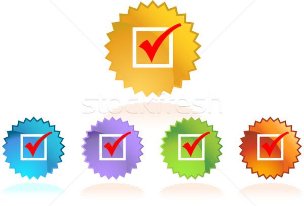 икона изображение испытание проверить выбора выборы Сток-фото © cteconsulting