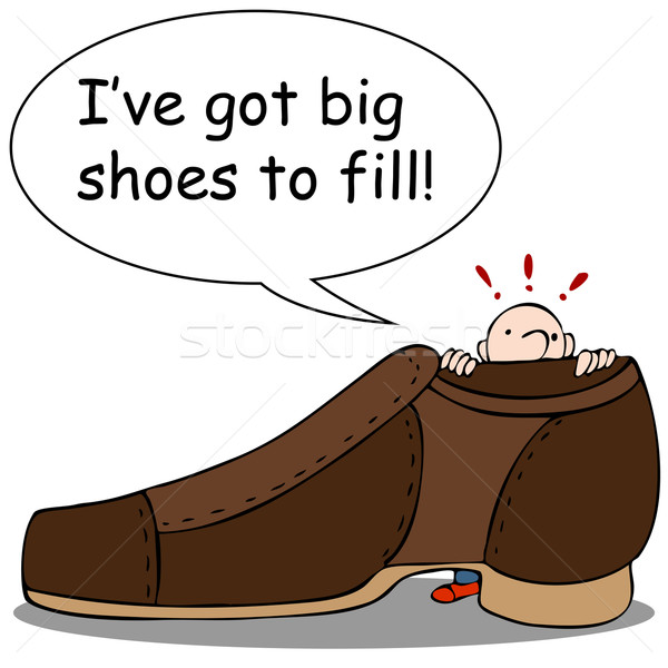 Big Shoes to Fill Stock photo © cteconsulting