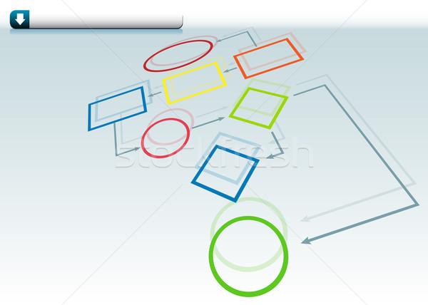 Org Chart Stock photo © cteconsulting