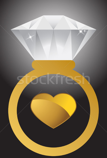 Diamond Ring Stock photo © cteconsulting