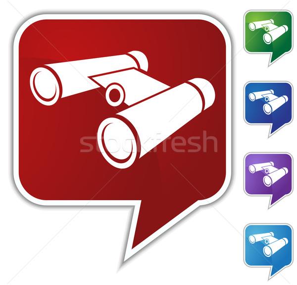 Binoculars Set Stock photo © cteconsulting