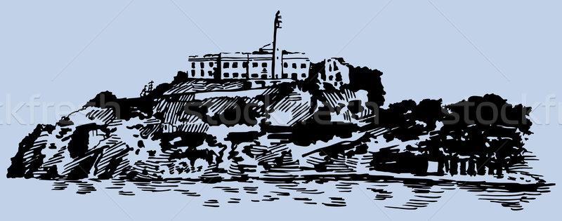 Alcatraz Island Stock photo © cteconsulting