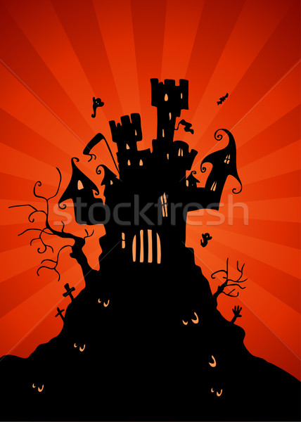 Haunted Castle Stock photo © cteconsulting