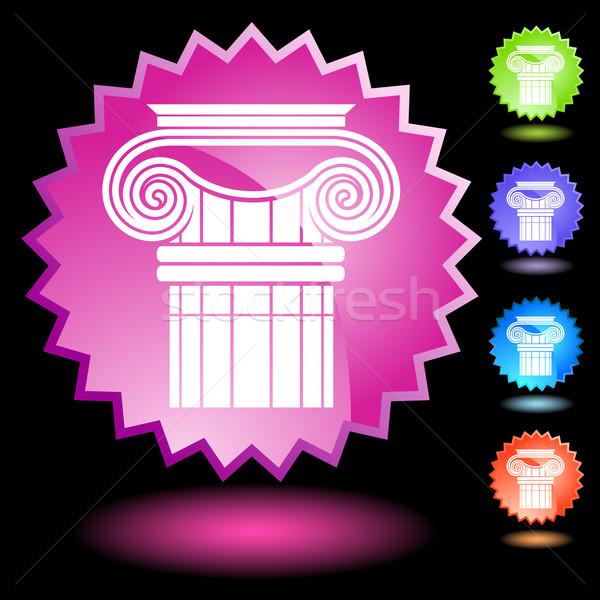 Ionic Column Stock photo © cteconsulting