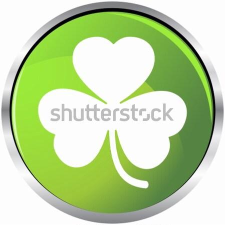 Groene klaver afbeelding natuur ontwerp achtergrond Stockfoto © cteconsulting