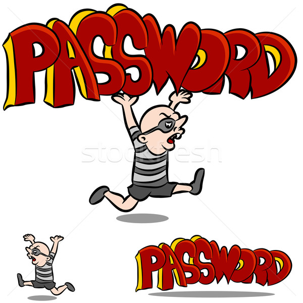 Stealing Password Stock photo © cteconsulting