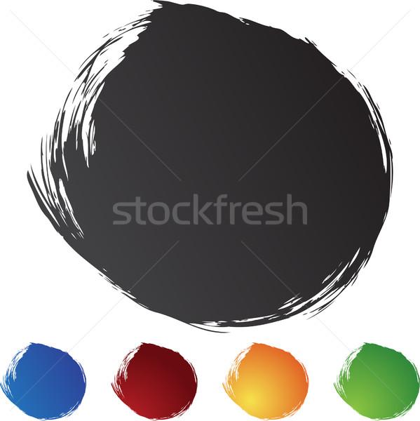 Square Brushstrokes Stock photo © cteconsulting