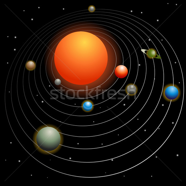 Solar System Stock photo © cteconsulting
