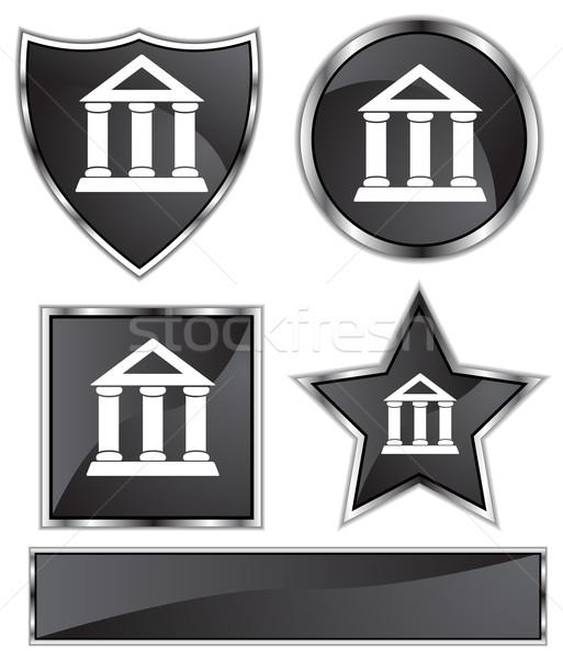 Black Satin - Bank Stock photo © cteconsulting
