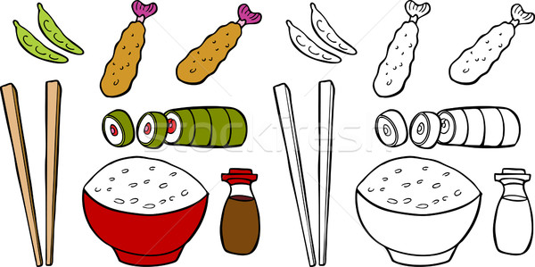 Asian Food Stock photo © cteconsulting