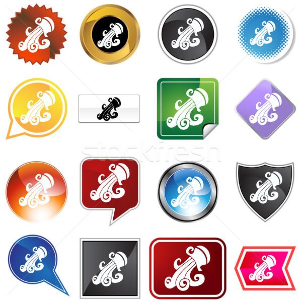 Multiple Buttons - Aquarius Stock photo © cteconsulting
