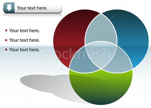 Circle Chart Stock photo © cteconsulting