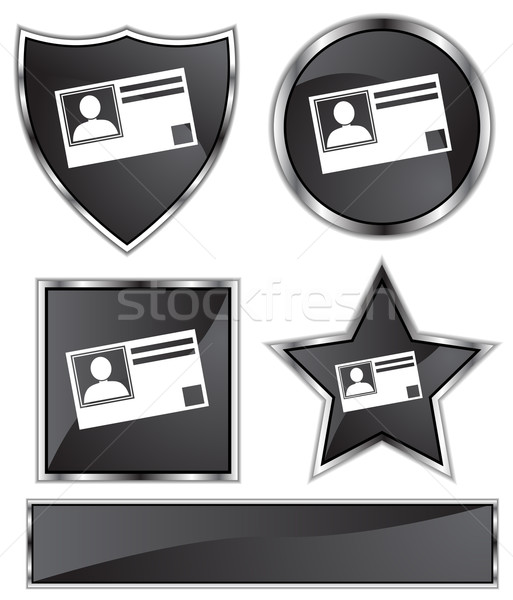 ID Card Stock photo © cteconsulting
