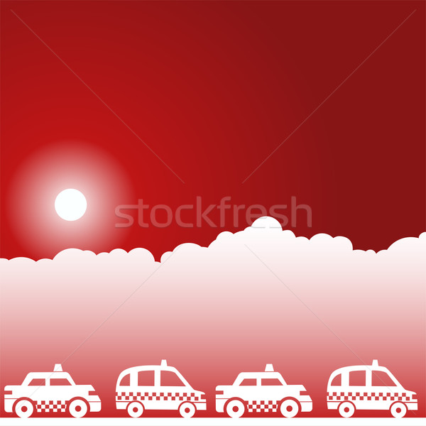 Taxi Cabs Stock photo © cteconsulting