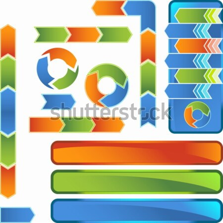 Multiple Business Diagrams Stock photo © cteconsulting