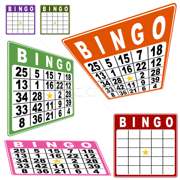 BINGO Card Set Stock photo © cteconsulting