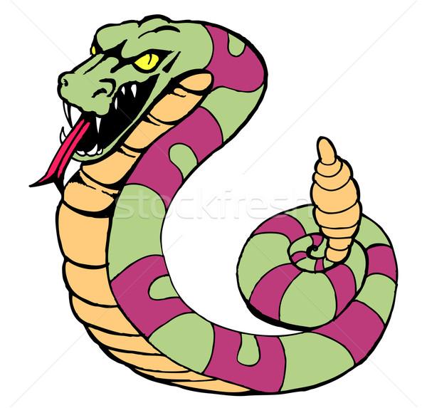Rattlesnake Stock photo © cteconsulting
