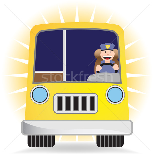 Driver with Bus Stock photo © cteconsulting