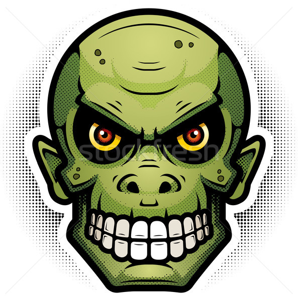 Evil Goblin Illustration Stock photo © cthoman