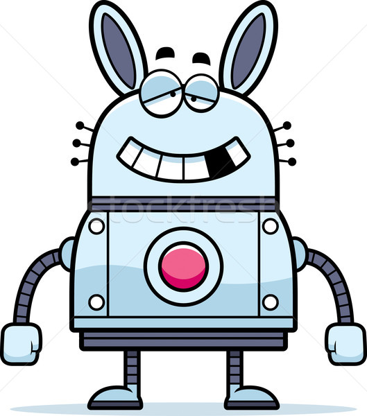 Malfunctioning Robot Rabbit Stock photo © cthoman