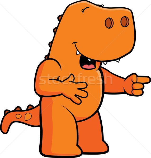 Dinosaur Laughing Stock photo © cthoman