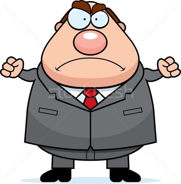 Angry Boss Stock photo © cthoman