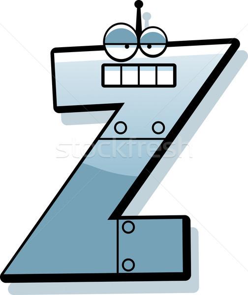 Letter Z Robot Stock photo © cthoman