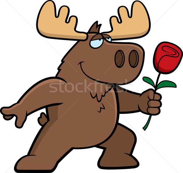 Moose Flower Stock photo © cthoman