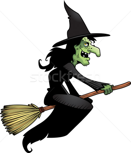 Witch Broomstick Stock photo © cthoman