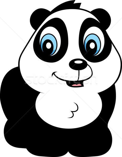Baby panda cartoon orso sorridere Foto d'archivio © cthoman
