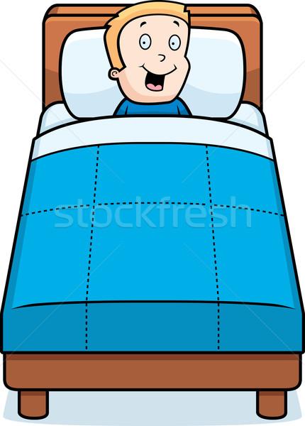 Child Bedtime Stock photo © cthoman