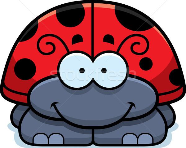 笑みを浮かべて てんとう虫 漫画 実例 幸せ ストックフォト © cthoman