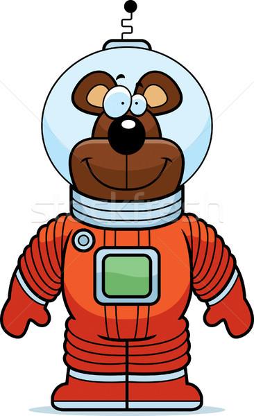 Bear Astronaut Stock photo © cthoman