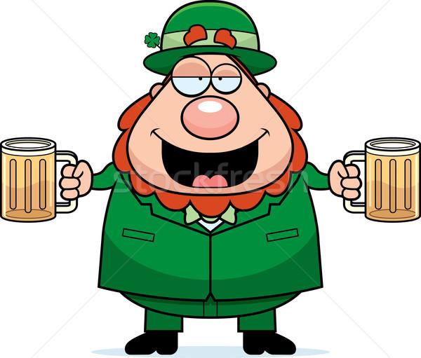 Leprechaun Drunk Stock photo © cthoman