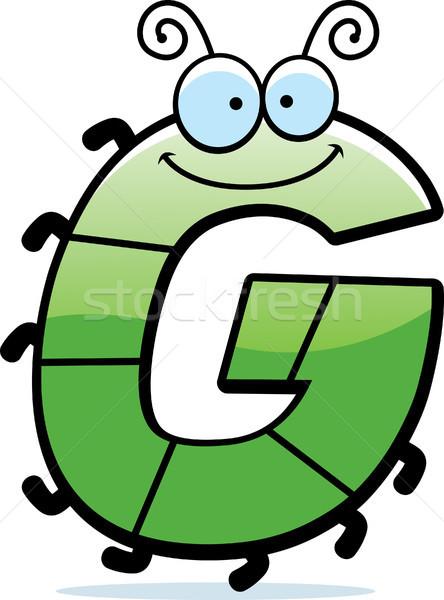 Cartoon error ilustración insectos feliz Foto stock © cthoman