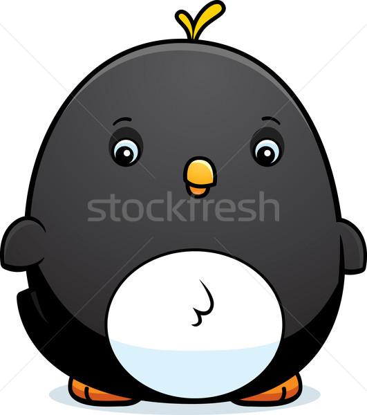 Cartoon Baby Penguin Stock photo © cthoman