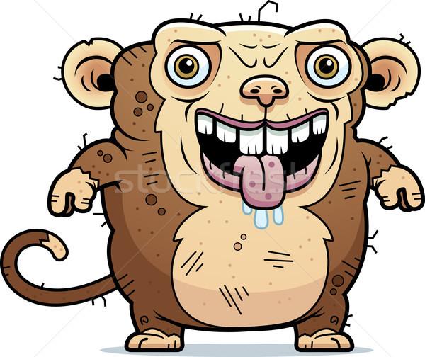 Ugly Monkey Standing Stock photo © cthoman