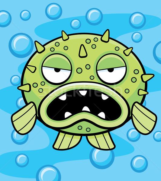Blowfish Underwater Stock photo © cthoman