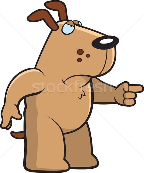 Angry Dog Stock photo © cthoman