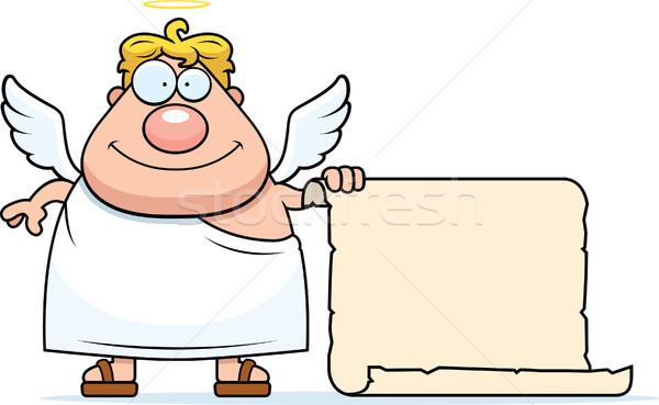Angel List Stock photo © cthoman