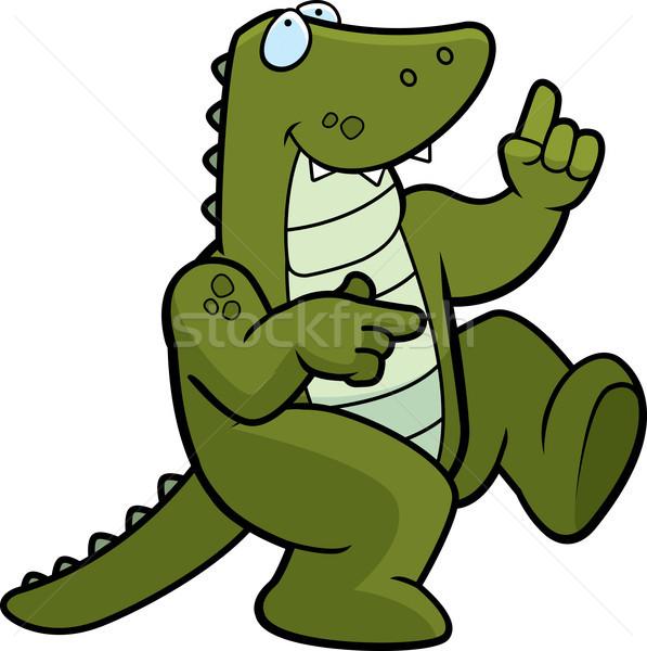 Alligator Dancing Stock photo © cthoman