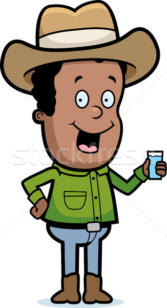 Cowboy Drink Stock photo © cthoman