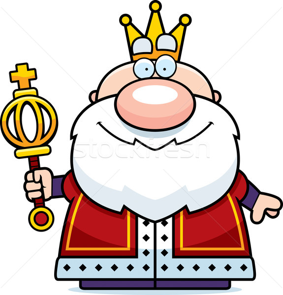 Cartoon King Scepter Stock photo © cthoman