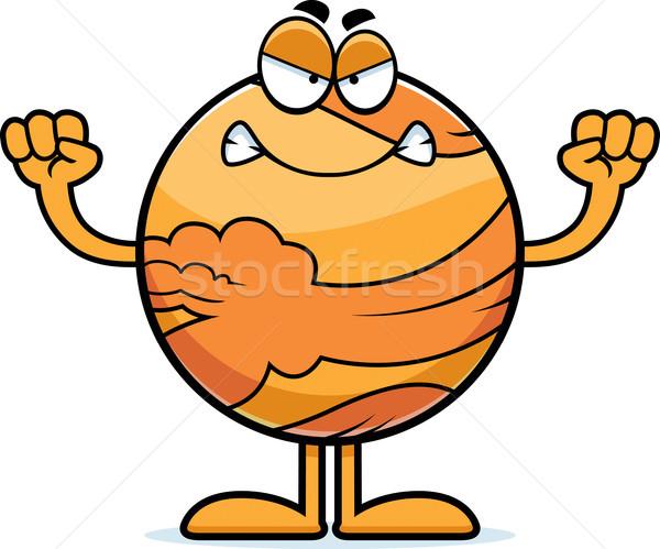 Angry Cartoon Venus Stock photo © cthoman