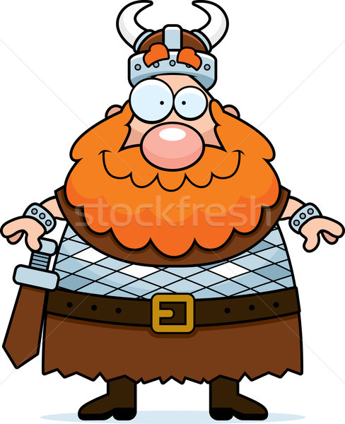 Viking Smiling Stock photo © cthoman