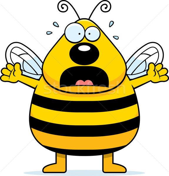 Scared Bee Stock photo © cthoman