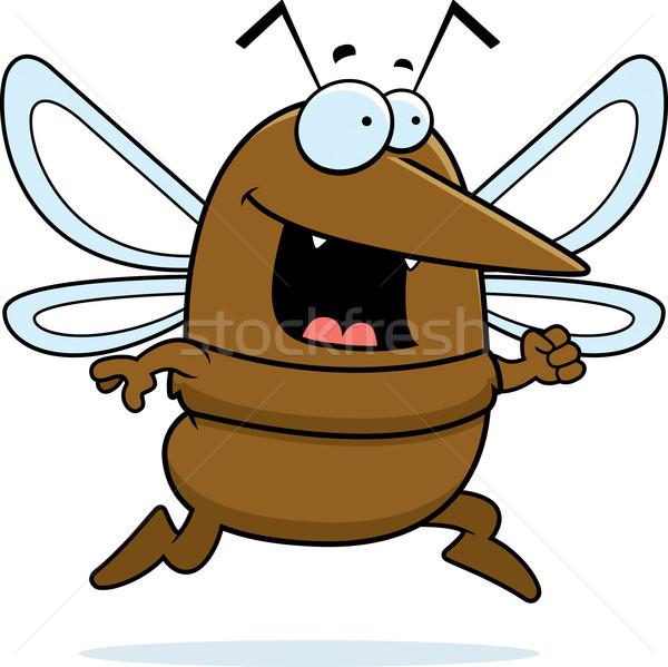 Mosquito Running Stock photo © cthoman