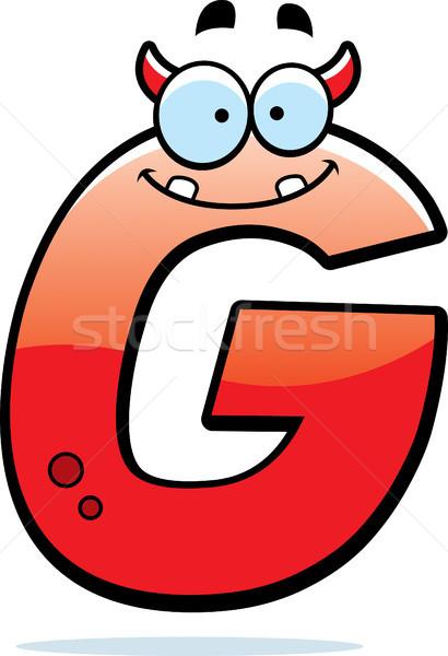 Letter G Monster Stock photo © cthoman