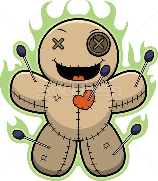 Cartoon Voodoo Doll Magic Stock photo © cthoman